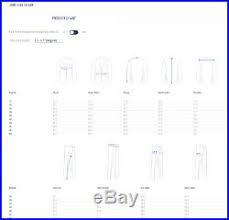 Nwt Suitsupply Jort Madison White Plain Cotton And Cashmere