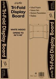 ucreate tri fold presentation board