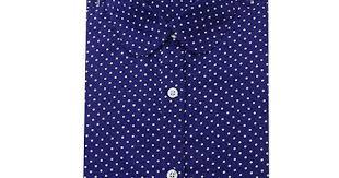Brand New Cotton Women <b>Shirts</b> Long Sleeve <b>Blouse</b> Polka Dot ...