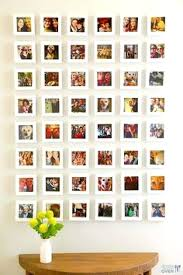 how to put pictures on wall without frames picture frame ideas