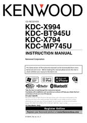 kenwood kdc mp745u manuals manuals and user guides for kenwood kdc mp745u we have 4 kenwood kdc mp745u manuals available for pdf instruction manual quick start manual
