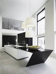 Black And White Modern Kitchen 50 Modern Kitchen Designs That Use Unconventional Geometry