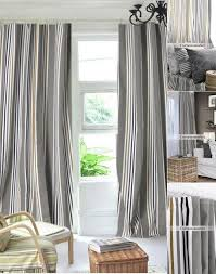 Gray and beige curtains Curtain Panel Curtains Market Classic Blackout Modern Gray Striped Curtains