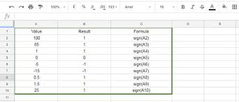 Sign Sheets Sign Function In Google Sheets Real Life Examples And Usage