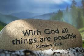 Bible Quote Mesmerizing With God All Things Are Possible Bible Quote Quotespictures