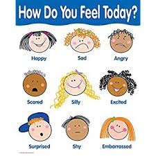 Emotion Chart For Kids Amazon Com Get Ready Kids Feelings Wall Chart Toys Games