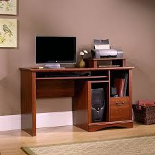 best computer furniture. cozy laminate wood flooring with sisal rugs and white baseboard plus brown computer desk best furniture