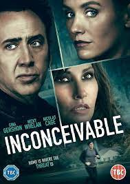 Inconceivable DVD Nicolas Cage Gina Gershon Original UK Release R2 for sale  online