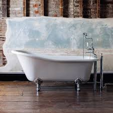 burlington harewood slipper 1700mm freestanding bath with legs