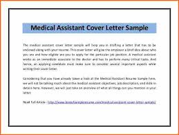 Best Ideas Of Epic Medical Assistant Cover Letter Examples With No