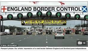 Will I need a passport to enter and leave an independent Scotland?    Scottish independence   The Guardian