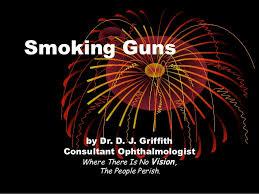 Smoking guns presentation slideshare