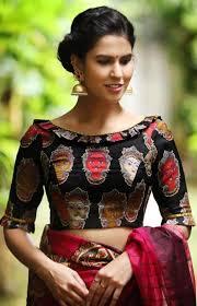 Boat Neck Blouse Designs For Saree Best Bridal Blouse Ideas Black Boat Neck Blouse With