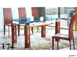 wood tables with glass tops perfect wooden dining table with glass top glass dining table with