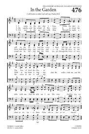 in the garden sheet music. Beautiful Music I Come To The Garden Alone  Hymnaryorg To In The Garden Sheet Music
