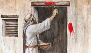Image result for google images- passover blood on doorpost- public domain