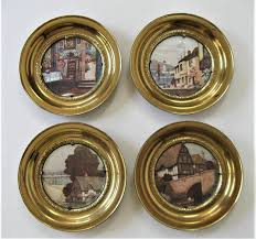 framed decorative wall plates