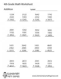 Math Worksheets Subtraction For 4th Grade Add And Subtract ...