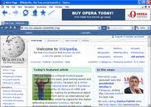 Maybe you would like to learn more about one of these? History Of The Opera Web Browser Wikipedia
