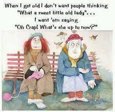 Old Lady Funny Quotes. QuotesGram via Relatably.com