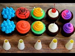 cool cupcake designs with icing.  Cupcake FIVE Cupcake FROSTING  For Cool Designs With Icing D
