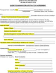 Download Event Contract Template For Free Tidyform