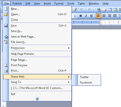 microsoft word menus customize word menu bar context menus and backstage view c sample