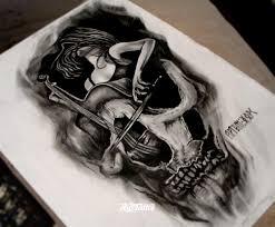 фото эскизы танец смерти в стиле графика реализм черно белые