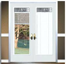 exterior door with blind exterior door with blinds between the glass steel doors in french patio