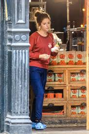 Come on by, book a private party, hang out in our warm and toasty. Anna Kendrick Shooting Of Love Life At Mud Cafe In New York 10 07 2019 Celebjar