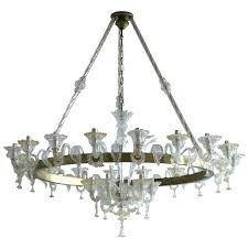 glass chandelier around fantastic murano nyc
