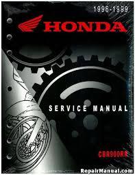 1996 1999 honda cbr900rr service manual official 1996 1999 honda cbr900rr factory service manual