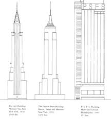 architectural drawings of skyscrapers. Modren Skyscrapers Not To Scale Philadelphia Skyscrapers And The Allure Of Architecture  Buildings Drawings On Architectural J