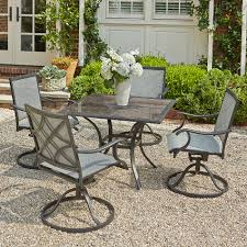 sears outdoor dining table. grand resort collins 5pc sling dining with granite - limited availability outdoor living patio furniture sets sears table g