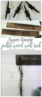 Simple Wood Coat Rack Easy DIY Nautical Pallet Wood Coat Rack simple project Artsy 73