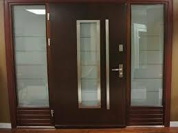 image of dark designer interior doors