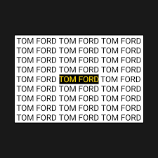 Tom Ford Size Chart Tom Ford