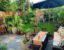 tantalising tropical tiki garden