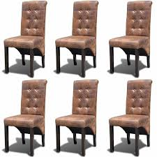 gallery of 43 elegant photos 6 dining chairs concept dining chairs set 6 faux leather kitchen living room furniture
