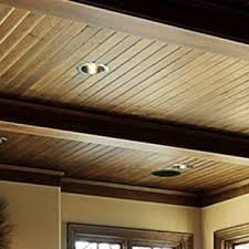 Simple Rustic Real Wood Ceilings