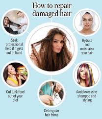 how to repair damaged hair femina in