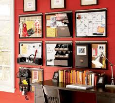 wall mounted home office. Attractive Office Organization For Your Home Ideas: Wall Mounted Small