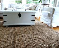 jute rug picture ikea round