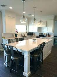 countertop overhang for seating kitchen island with overhang islands seating designing a best ideas on white