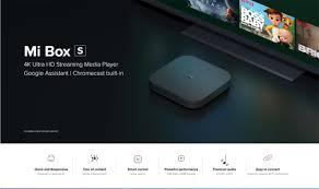 Xiaomi Mi Box S Black EU Plug TV Box Sale, Price & Reviews