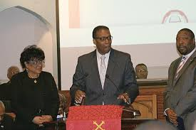 BLACK CLERGY: Griffith Installed For 3rd Term | Philadelphia Public Record