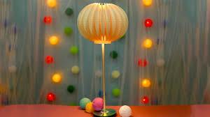 Diy Paper Plate Hi Tech Lamp Design Youtube