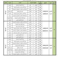 تعرف على جدول مباريات الدور الأول في الدوري السعودي لكرة القدم موسم  2020-2021