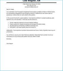 New Graduate Nurse Cover Letter 3785