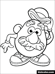 mr and mrs potato head coloring pages. Interesting Potato Mr Potato Head Coloring Pages  Page Various For Mr And Mrs Potato Head Coloring Pages D